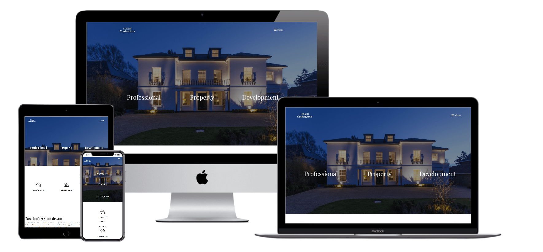 Responsive and mobile optimised websites
