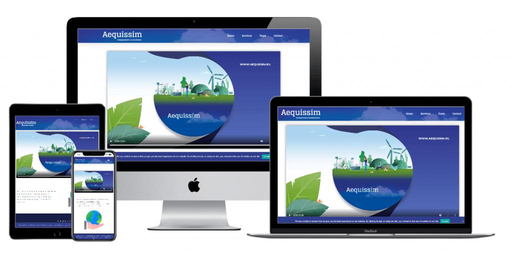 Multi device website